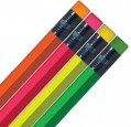 Personalized Neon Hex Pencils